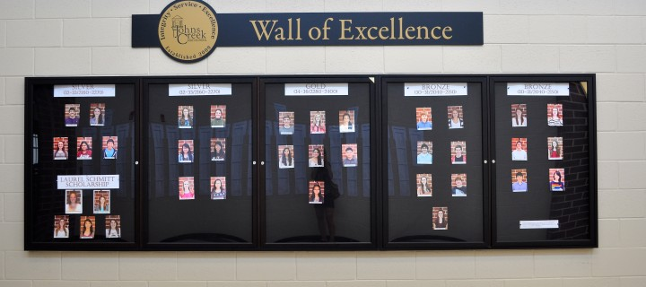 JCHS Wall of Excellence