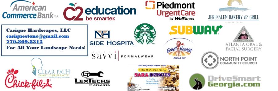Our PTSA Sponsors