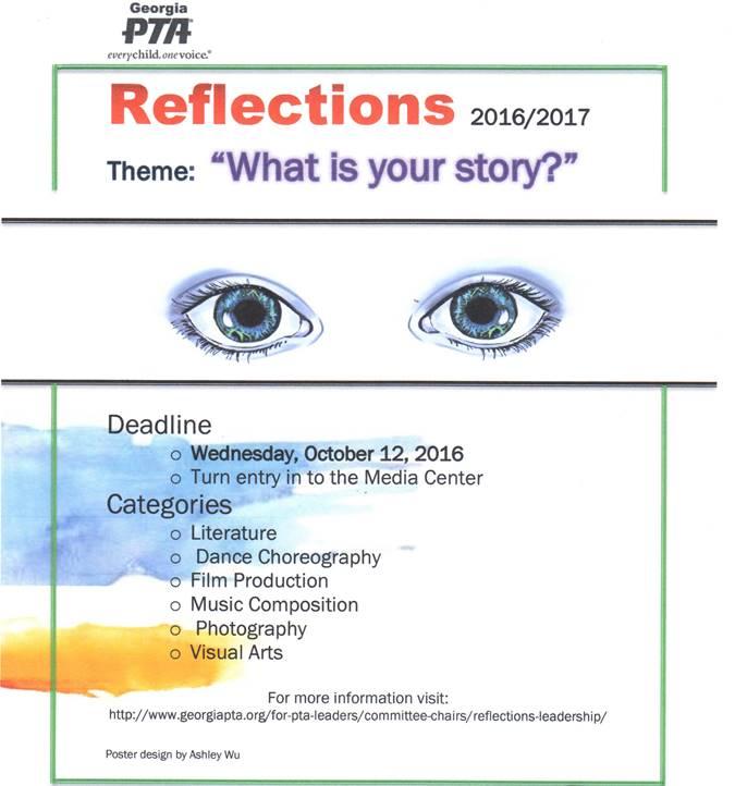 JCHS PTSA Reflections 2016/2017